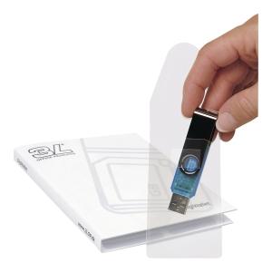 PK10 3L 10250 USB ADHESIVE POCKET