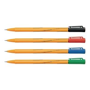 Cienkopis RYSTOR RC-04, etui 4 kolorów