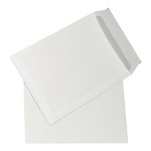 Koperta B4 z paskiem, biała, 100g, w opakowaniu 250 sztuk