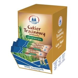 Cukier trzcinowy DIAMANT, saszetki 200 sztuk x 5 g