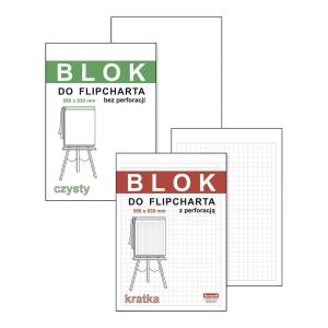 Blok do flipcharta DAN-MARK A1, gładki, 20 kartek