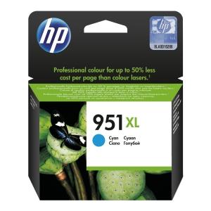 Tusz HP 951XL CN046AE cyan