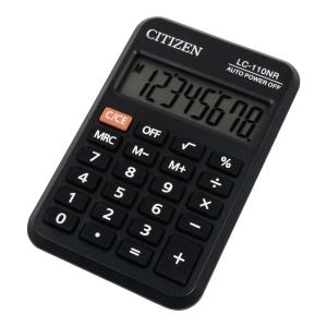 Kalkulator kieszonkowy CITIZEN LC-110N czarny