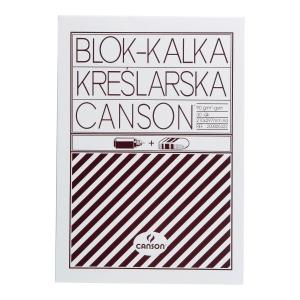 Kalka kreślarska CANSON A4 90/95g, blok 30 arkuszy