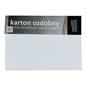 RM20 GP EMBOSSED CARD PAP CANVAS 230G WH