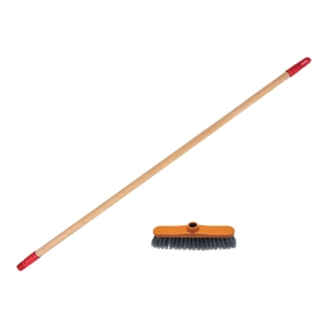 ATPOL BROOM 30CM + STICK 130CM