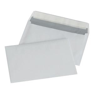 Koperty z paskiem C6 NC KOPERTY, biała,  1000 sztuk