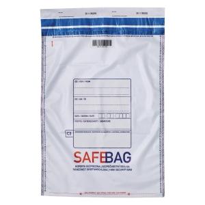 Koperty bezpieczne BONG SAFEBAG C3, szare, w opakowaniu 100 sztuk