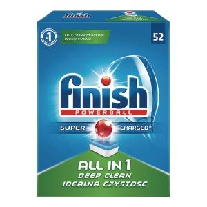 Tabletki do zmywarek FINISH All-in-one, 52 tabletki