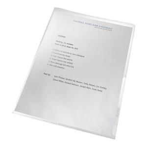 Ofertówki LEITZ Re:cycle A4 130 mikronów, w opakowaniu 100 sztuk