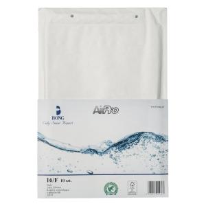 Koperty babelkowe AirPro® Bong 16/F białe, w opakowaniu 10 sztuk