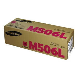 Samsung CLT-M506L High Yield Magenta Toner Cartridge (SU305A)