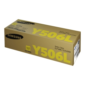 Samsung Clt-Y506L High Yield Yellow Toner Cartridge (Su515A)