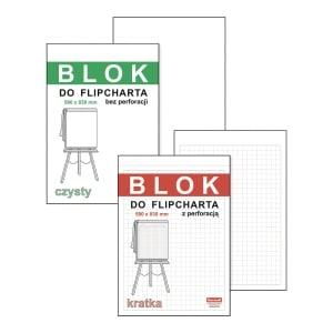 Blok do flipcharta DAN-MARK gladki, 50 kartek
