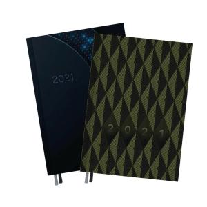 Kalendarz Top2000 Setalux Men B5, dzienny, miks wzorów