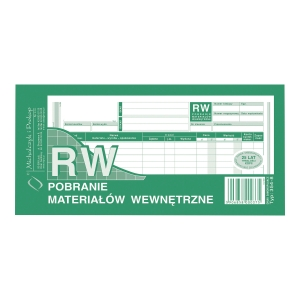 Druk MICHALCZYK&PROKOP Pobranie materiałów wewn. 1/3 A4, wielkopia, 80 kartek