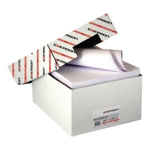 Papier do drukarek igłowych EMERSON 60 g/m², 12   x 240 mm, 1+0, 2000 składek