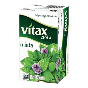 PK20 VITAX MINT TEA