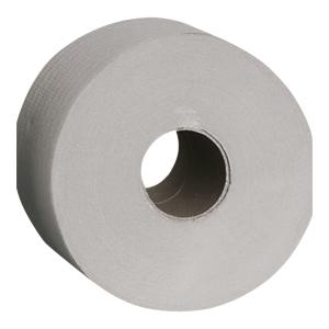 Papier toaletowy MERIDA Jumbo, szary, 12 rolek