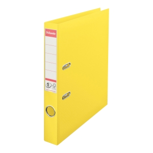 Segregator z mechanizmem ESSELTE Vivida Power No.1  A4 50mm żółty