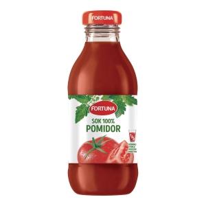 Sok pomidorowy FORTUNA, 15 butelek x 0,3 l