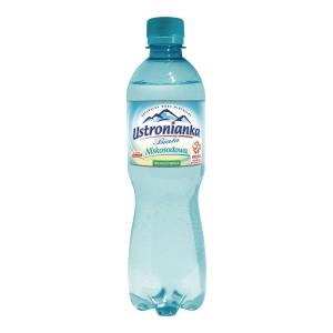 Woda mineralna USTRONIANKA niegazowana, 12 butelek x 0,5 l