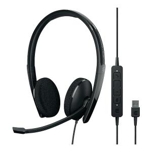Sennheiser SC60 Wired USB PC Binaural Headset Skype