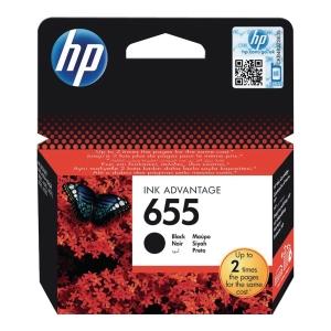 Tusz HP 655 CZ109AE czarny