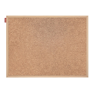 MEMOBOARDS WOOD CORK BOARD 30 X 40 CM