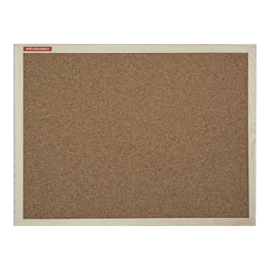 MEMOBOARDS WOOD CORK BOARD 90 X 60 CM