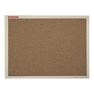 MEMOBOARDS WOOD CORK BOARD 120 X 60 CM