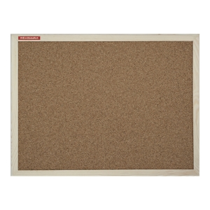MEMOBOARDS WOOD CORK BOARD 120 X 90 CM