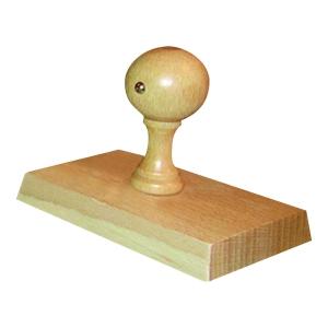 Wooden stamp - 85 x 55mm