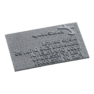 Replacement text plate for Trodat Printy 4912