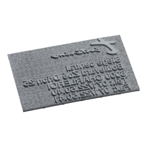 Replacement text plate for Trodat Printy 4928