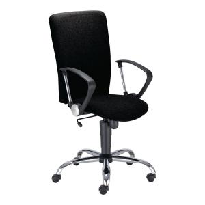 Krzesło NOWY STYL Select Steel, czarne