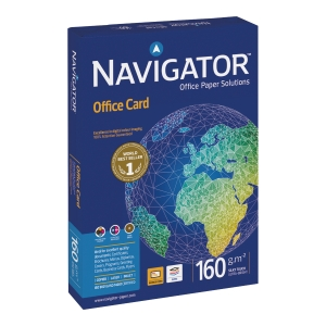 RM250 NAVIGATOR OFFICE CARD A4 160G WH