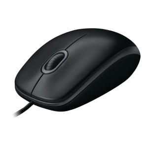 Logitech B100 Usb Mouse Black