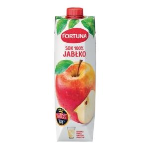 Sok jabłkowy FORTUNA, karton 1 l
