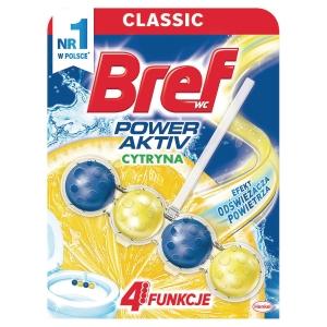 Kulki do toalet BREF Power Activ, 50 g, zapach cytrynowy