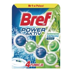 Kulki do toalet BREF Power Activ, 50 g, zapach morski