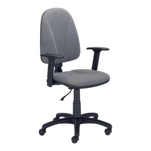 Krzesło NOWY STYL Premium Ergo z regulowanymi podłokietnikami, czarne