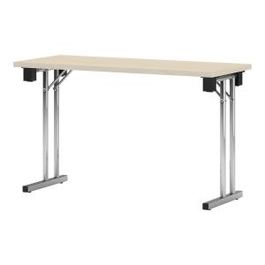 Stół konferencyjny NOWY STYL ERNEST składany, 120 x 60 x 72 cm, klon