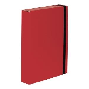 Teczka VAUPE BOX CARIBIC 50mm A4 czerwona