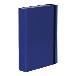 Teczka VAUPE BOX CARIBIC 50mm A4 niebieska