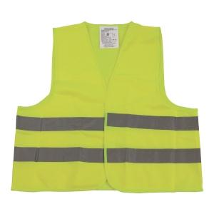 Kamizelka ostrzegawcza VERA, żółta, rozmiar uniwersalny