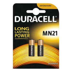 PK2 DURACELL SECURITY MN21 BATTERIES
