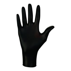 Rękawice nitrylowe MERCATOR MEDICAL NITRYLEX® BLACK, rozmiar S, 100 sztuk