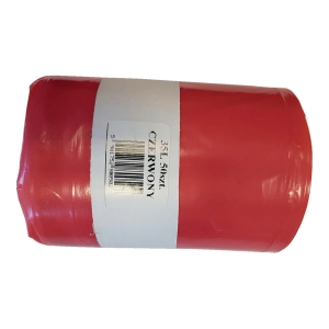 PK50 MEDICAL WASTE BAGS RED 35L