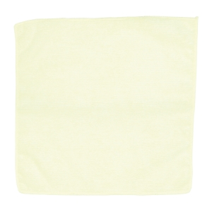 Ściereczka z mikrofibry Clean Pro, 32 x 32 cm, żółta